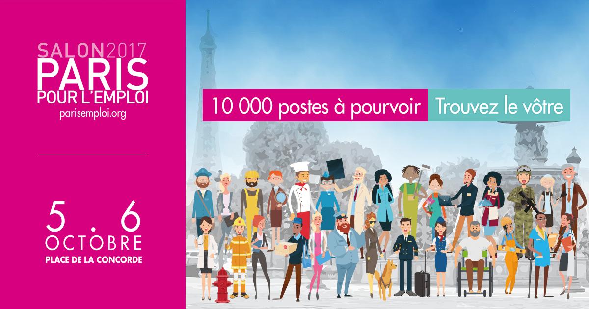Rgis job les m tiers de l 39 inventaire paris paris for Salon paris pour l emploi 2017