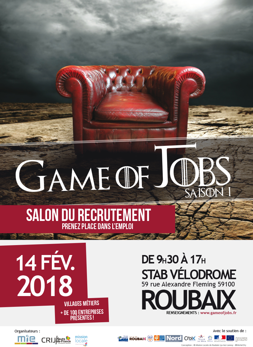 game of jobs roubaix